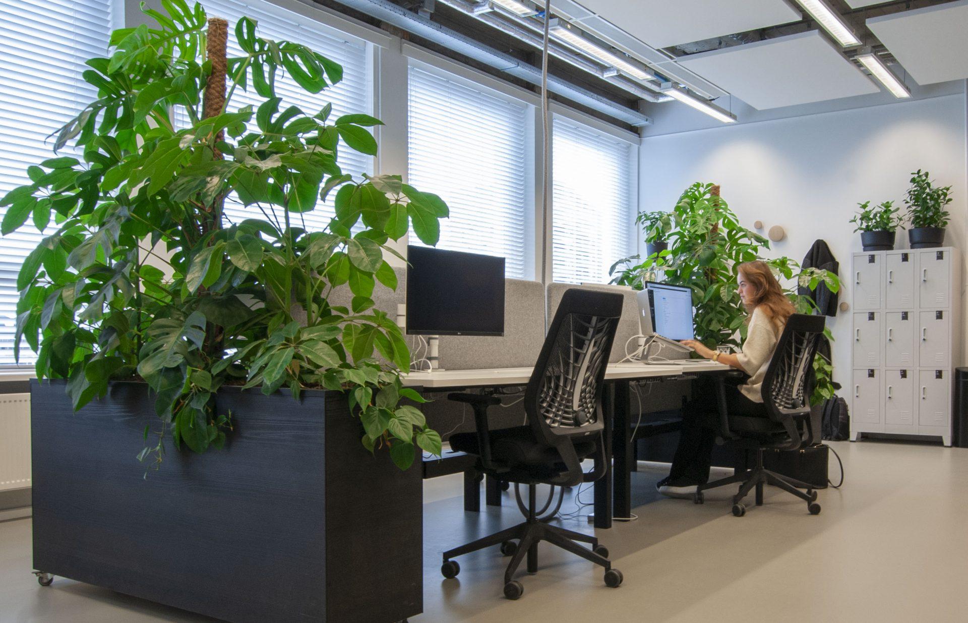 Het klimaat op het kantoor verbeteren