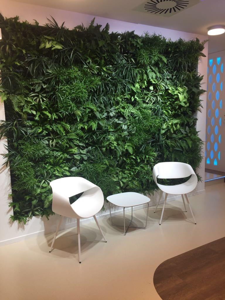 Planting Power Living Wall
